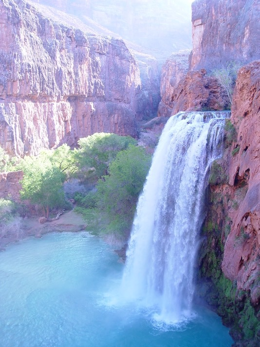 Havasupai backpacking, Sedona Trip 4-08 193
